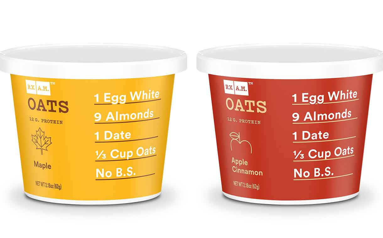 Kellogg-owned Rxbar introduces single-serve oatmeal cup range