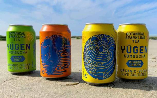 Yugen uses Ball packaging for new line of kombucha drinks