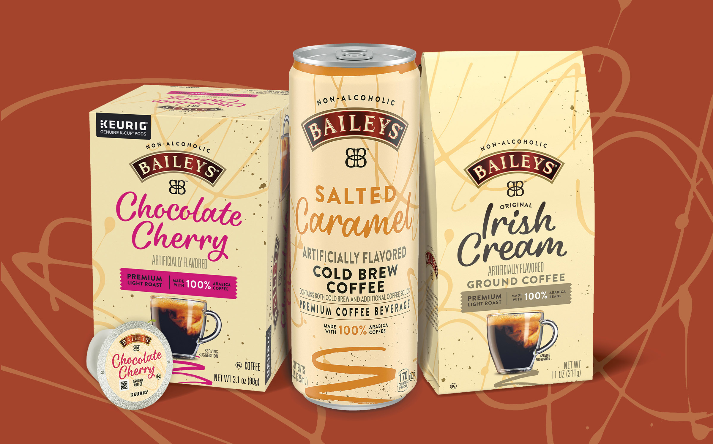 Kraft Heinz partners with Baileys to unveil non-alcoholic coffee line