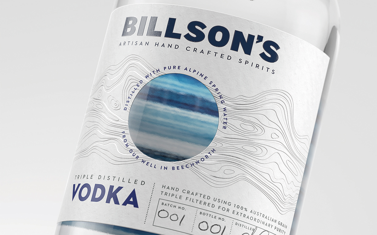 Billson's partners with Cowan London for craft vodka launch