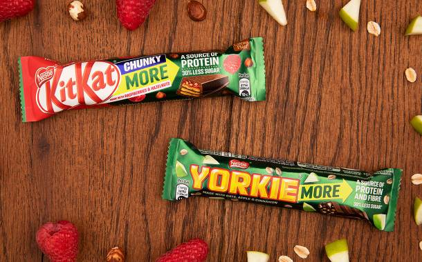Nestlé launches new KitKat and Yorkie bars with fruit and nuts