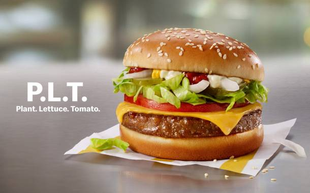 McDonald's tests plant-based burger in partnership with Beyond Meat
