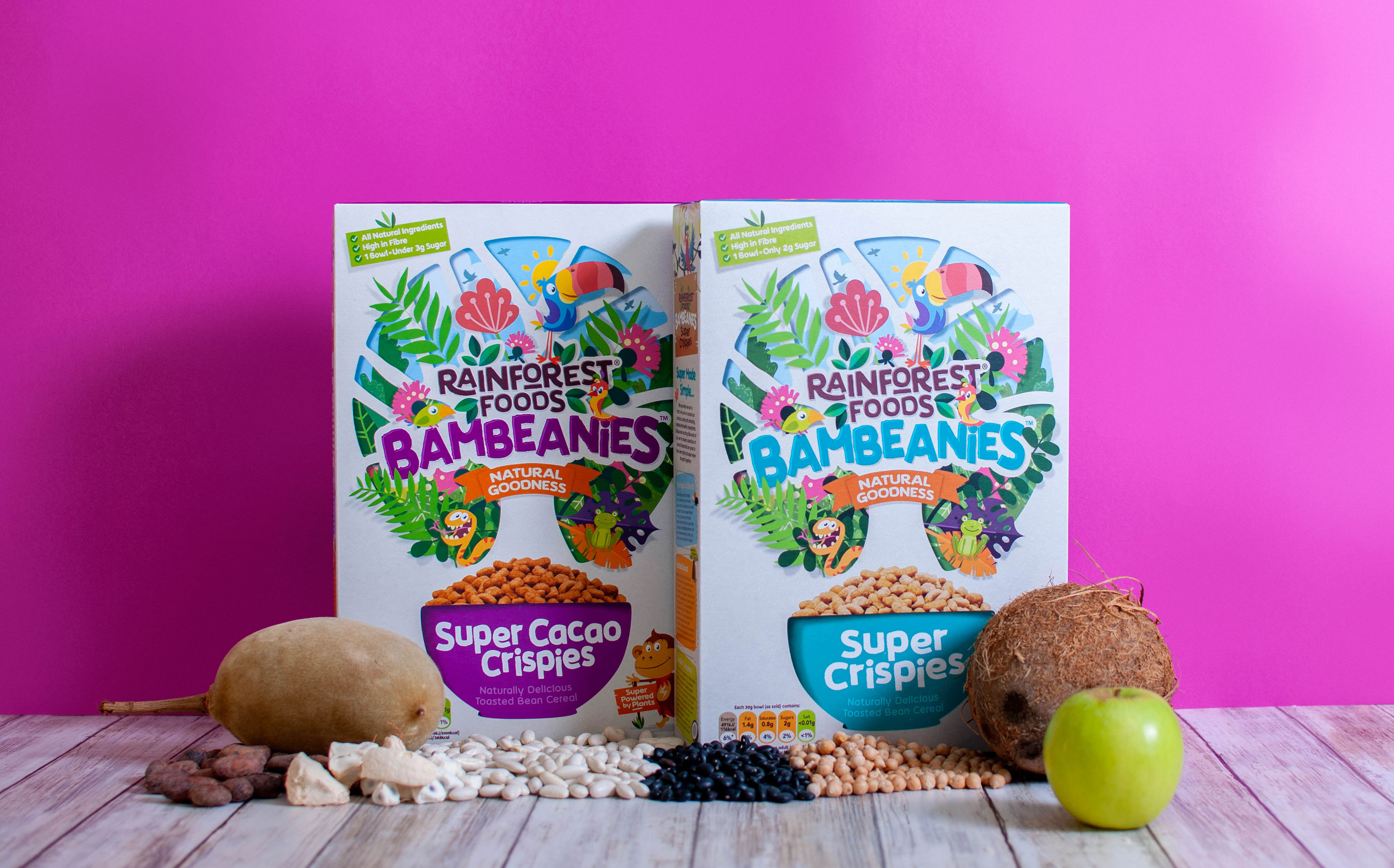 Rainforest Foods releases bean-based family cereal