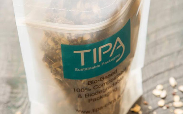 Compostable packaging producer TIPA raises $25m