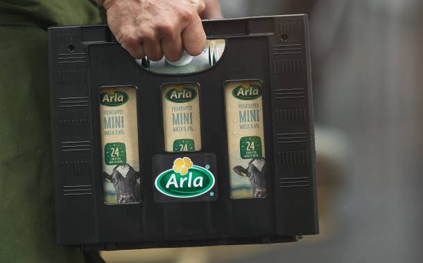 Arla to cut CO2 emissions with recycled plastic milk crates
