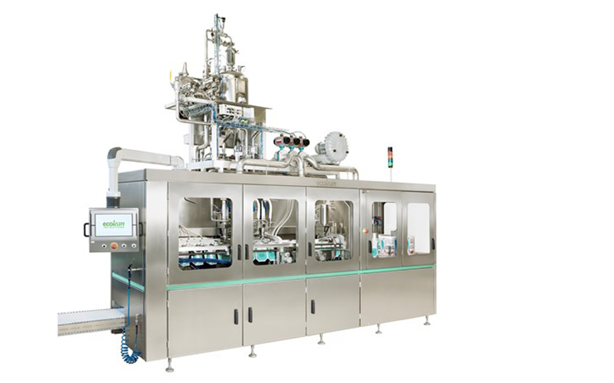 Ecolean unveils EL1+ filling machine with more than double capacity