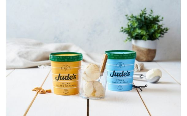 Oat-based vegan ice cream released by British brand Jude's