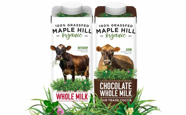 Maple Hill partners with SIG to launch single serve organic milk