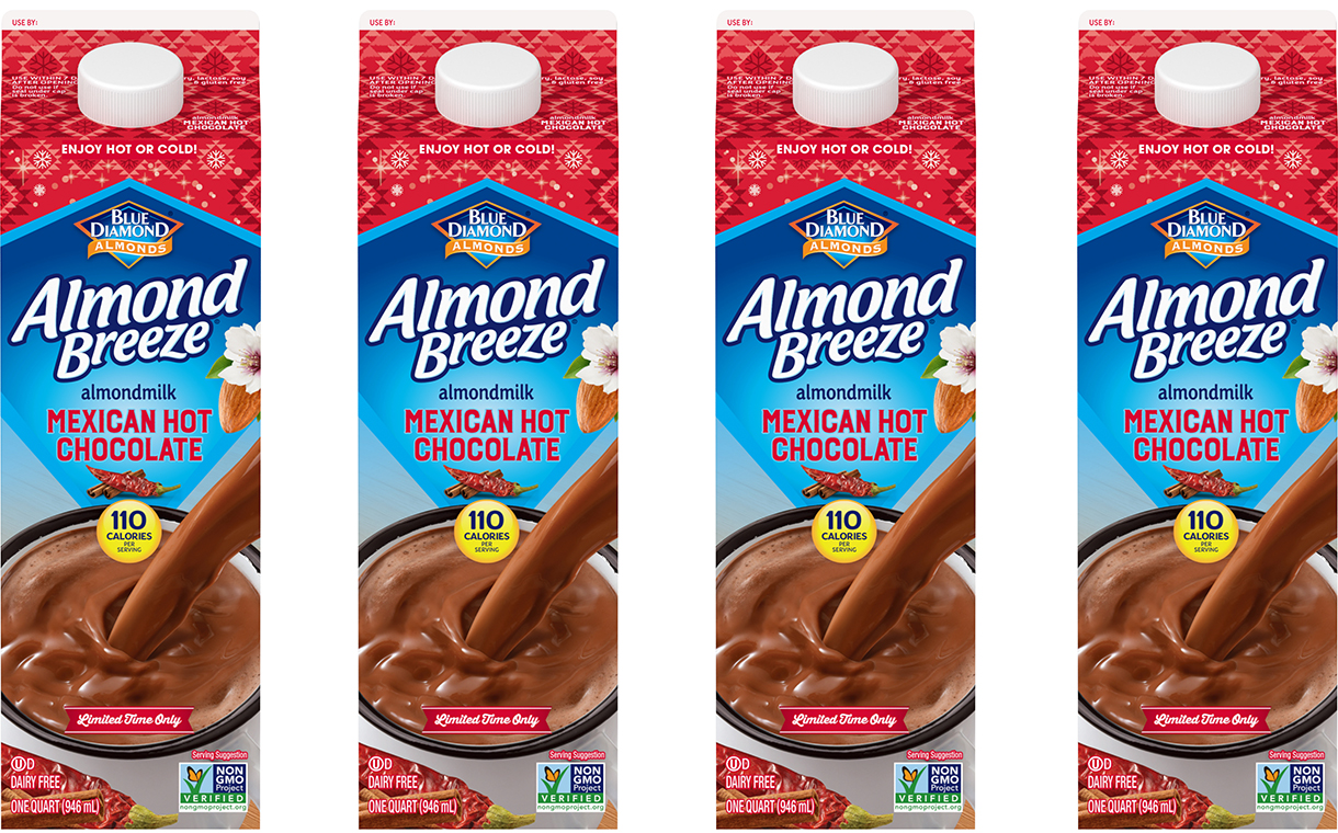 Blue Diamond launches Almond Breeze Mexican hot chocolate
