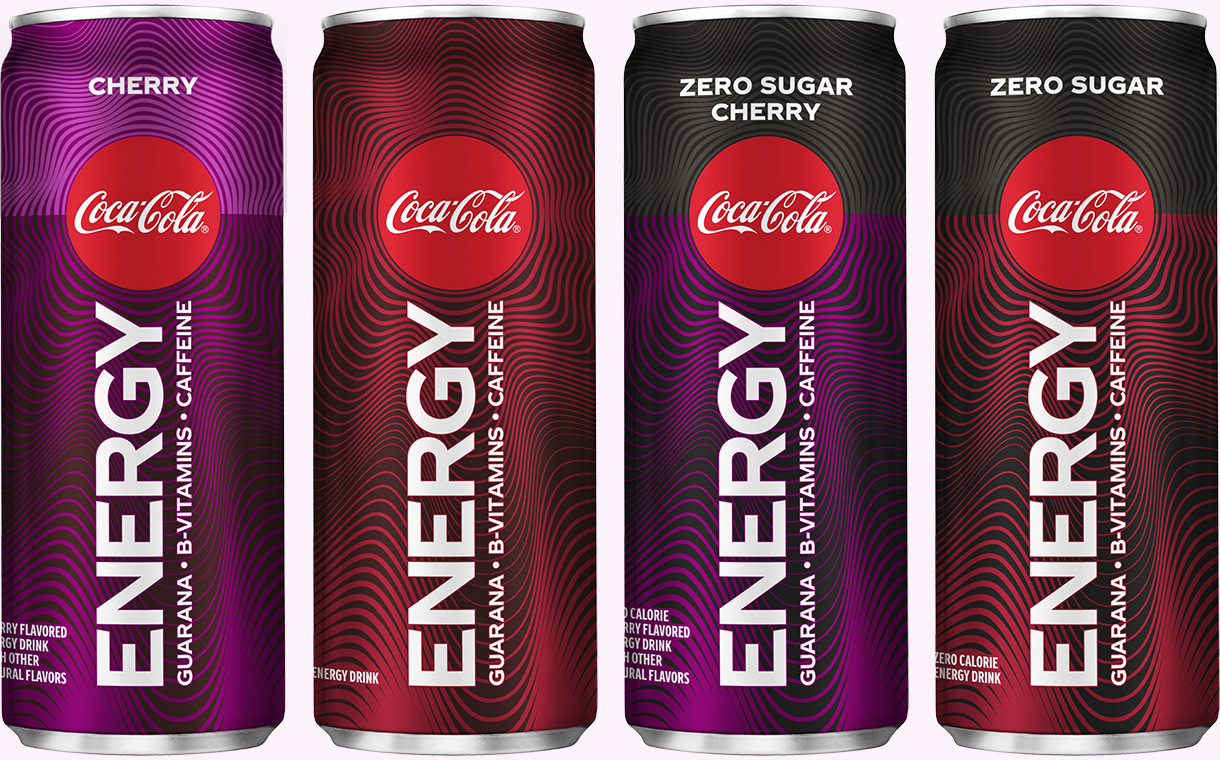 Coke to launch Coca-Cola Energy and new cherry flavour in the US