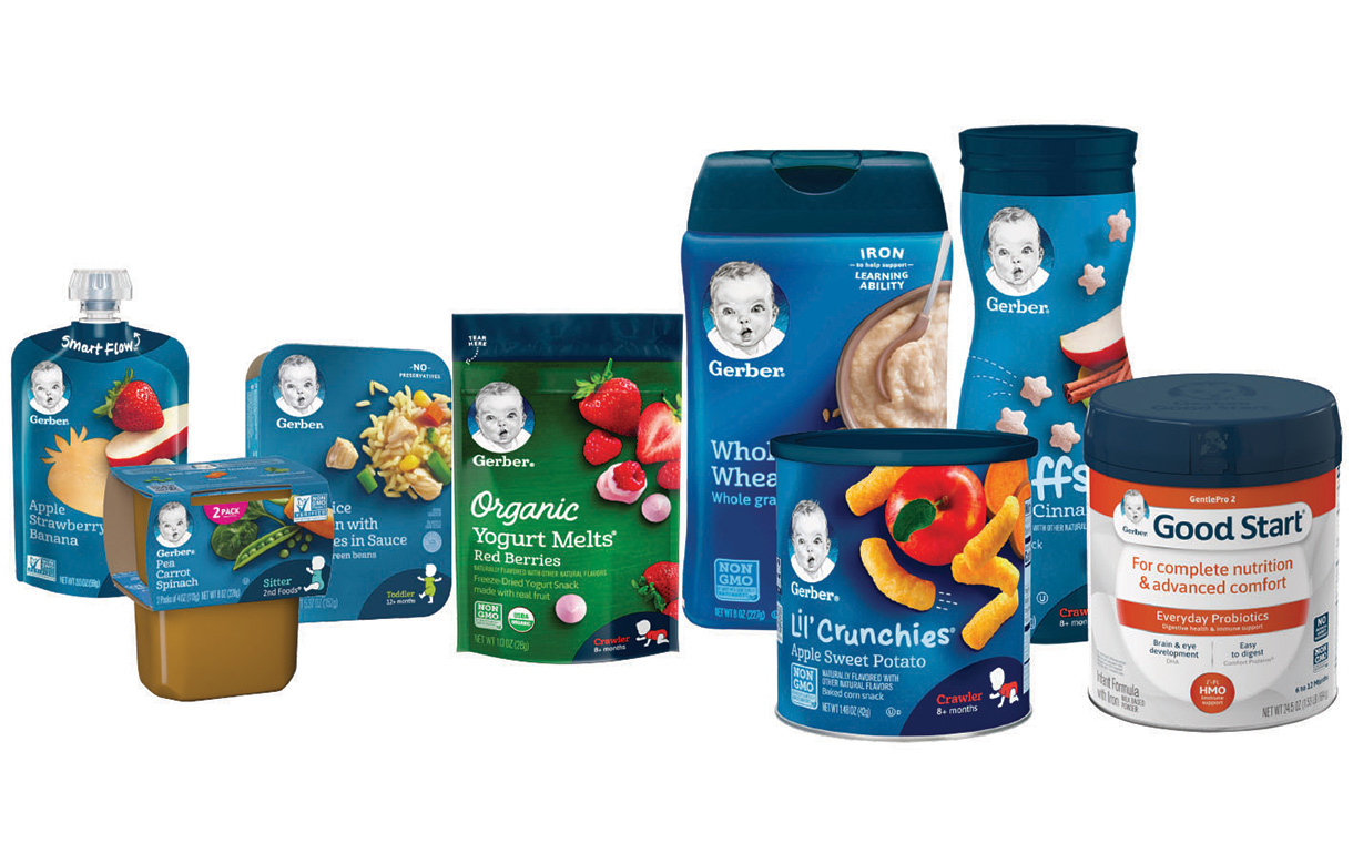 Nestlé's Gerber and TerraCycle partner for recycling programme