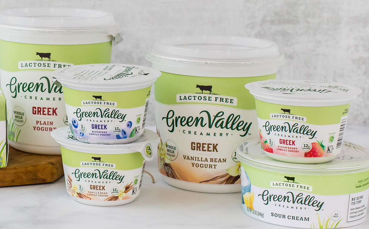 Green Valley Creamery launches lactose-free Greek yogurt line