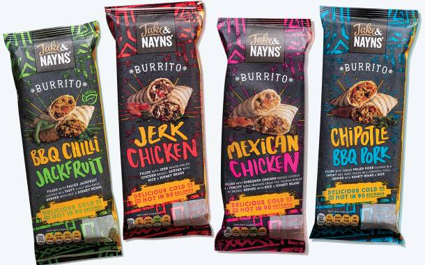 Naansters creator Jake and Nayns' launches burrito range