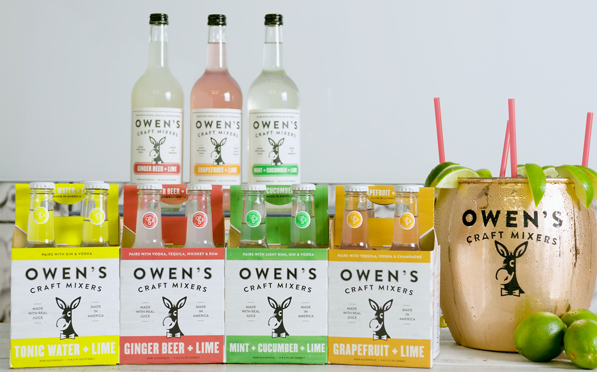 Owen's Craft Mixers announces $3m Series A funding round
