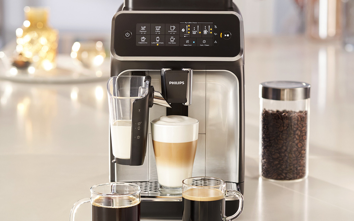 Philips launches new espresso machines for café-style coffees