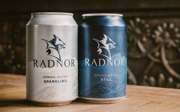 Radnor Hills launches canned water after £3.5m investment