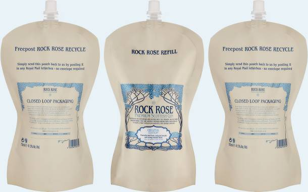 Dunnet Bay Distillers launches Rock Rose Gin in refill pouches