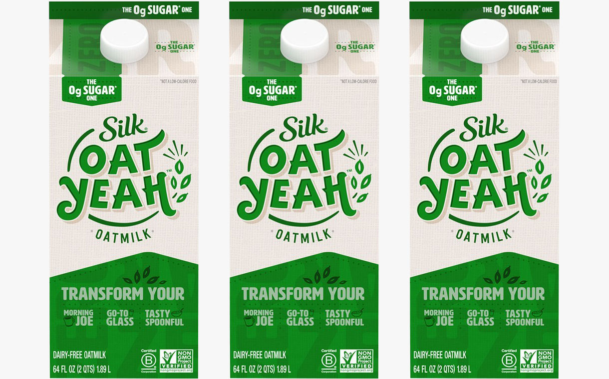 Silk releases new zero-sugar Oat Yeah oat milk in the US