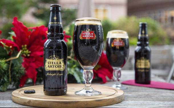 Stella Artois unveils limited-edition Midnight Lager