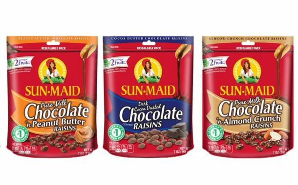 New range of Sun-Maid chocolate raisin flavours launched in the US