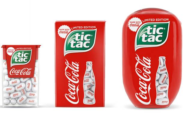 The Ferrero Group introduces limited-edition Tic Tac Coca-Cola