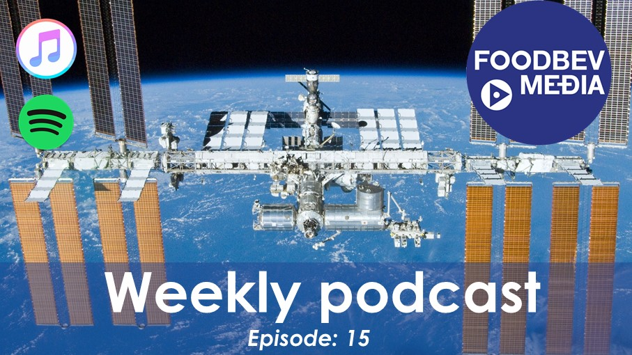 Weekly Podcast Episode 15: Space meat, PepsiCo's green bond and more