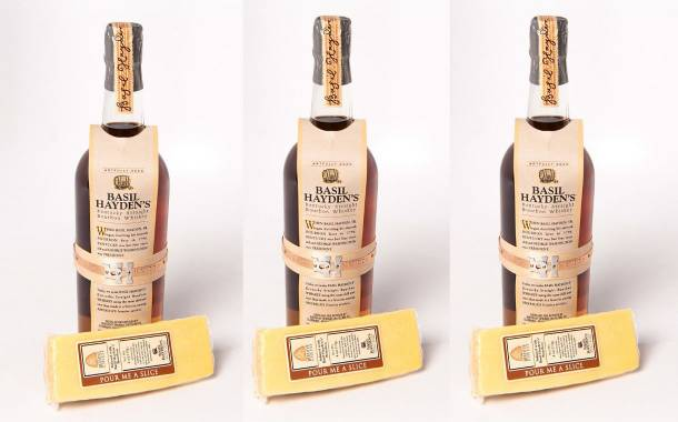 Basil Hayden's Bourbon-infused cheese launched by new partnership