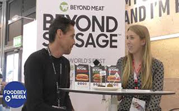 Interview: Beyond Meat showcases the Beyond Sausage and its plant-based range