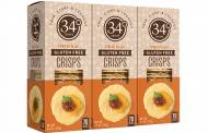 34 Degrees launches gluten-free crisps made using chickpea flour