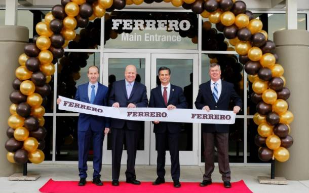 Ferrero opens new US facility to distribute growing portfolio