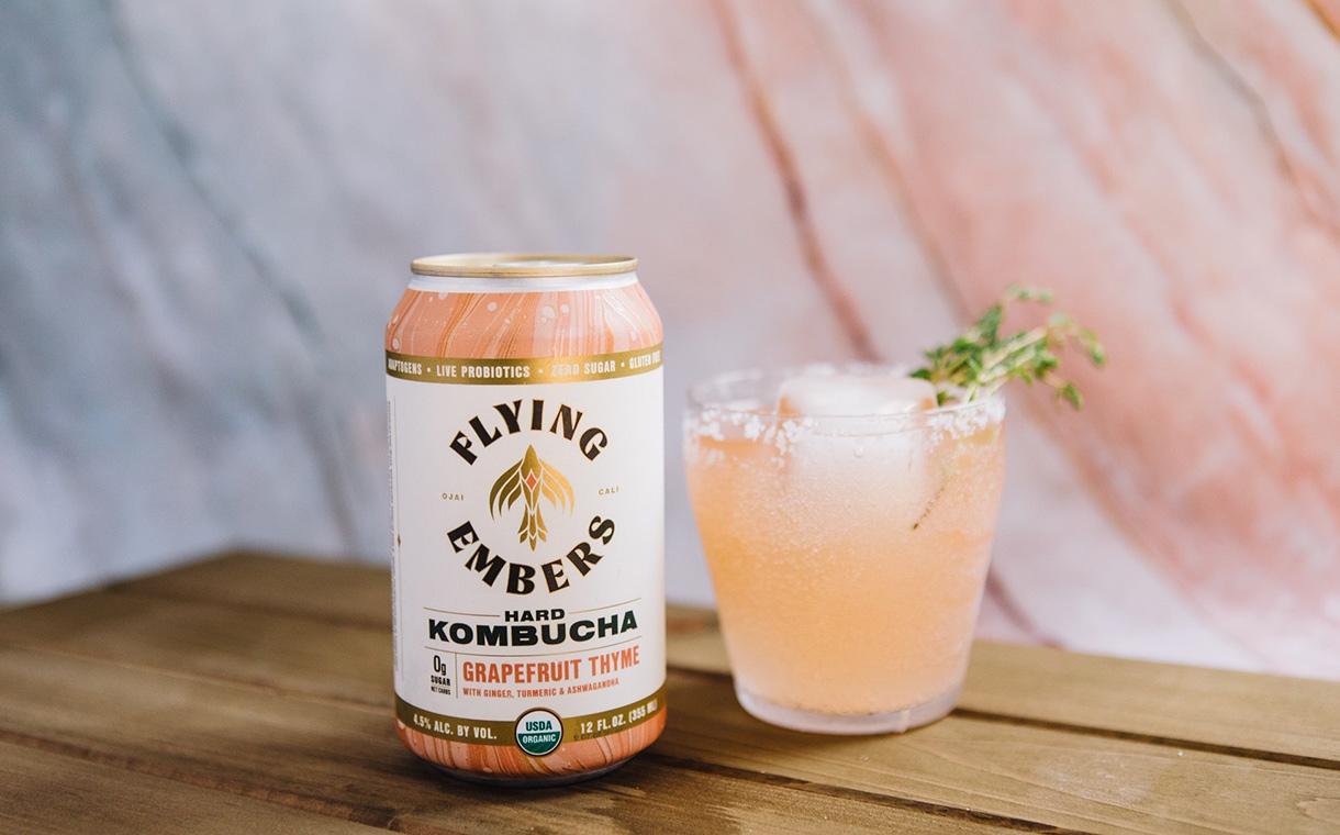 Company behind Flying Embers Hard Kombucha raises $25m