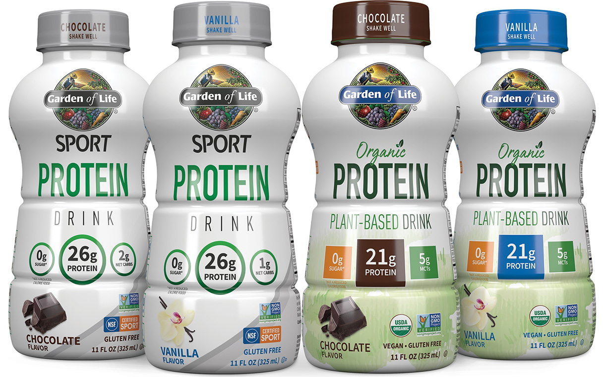 Nestlé's Garden of Life releases ready-to-drink protein beverages