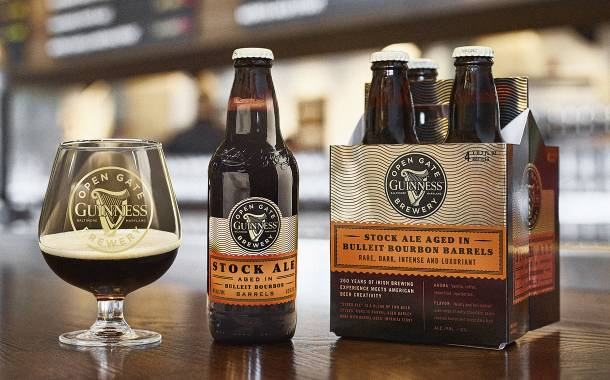 Diageo launches new Guinness stock ale aged in Bulleit barrels
