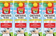 Danone introduces Horizon Organic Growing Years milk