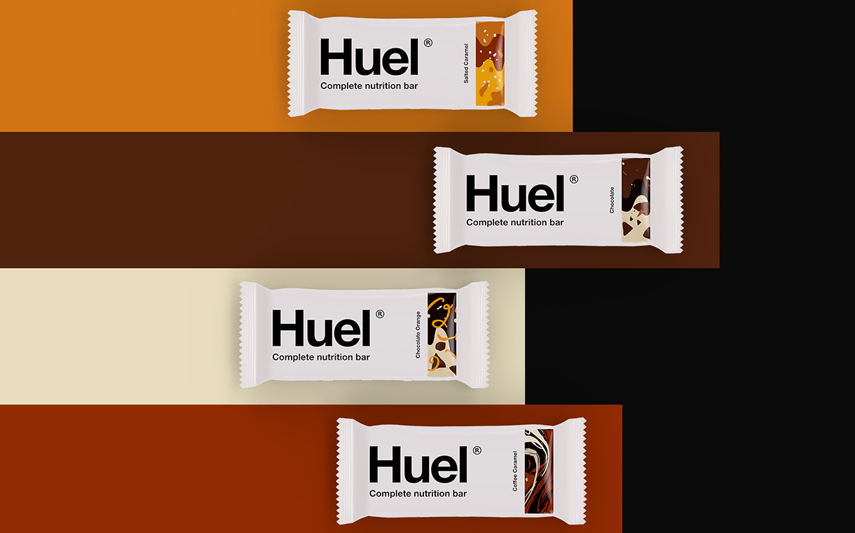 Huel releases four-strong range of high-protein snack bars