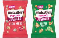 Metcalfe's introduces Jumbles popcorn range with fruit pieces