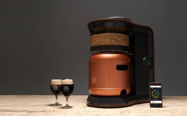 Start-up unveils home brewing machine MiniBrew Craft