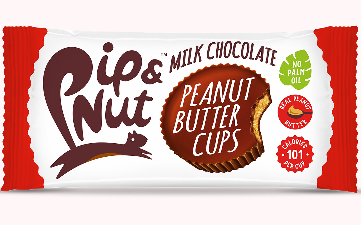 Pip & Nut debuts three-strong range of nut butter cups in UK