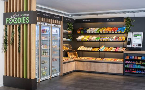 Selecta rolls out its Foodie's MicroMarket concept in Germany