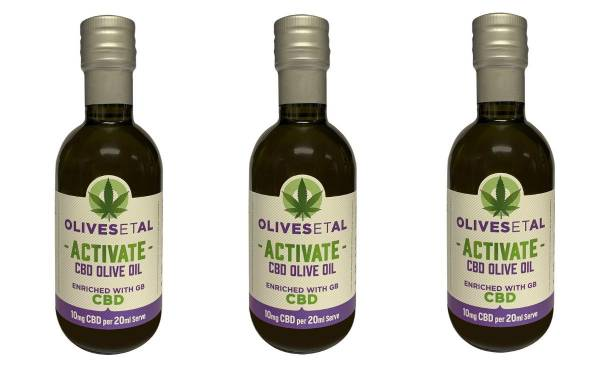 Two UK companies join forces to launch CBD olive oil