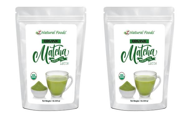 Z Natural Foods launches Organic Matcha Green Tea Latte powder