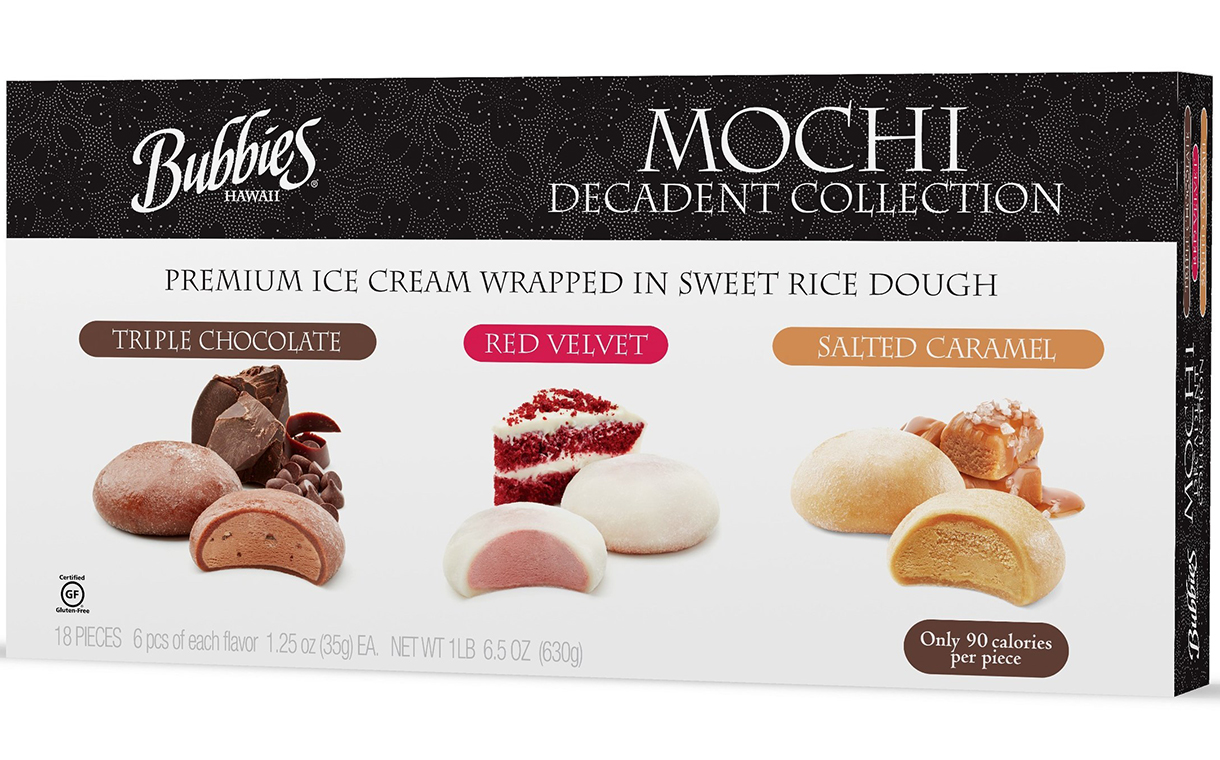 Bubbies adds to mochi ice cream offer with Decadent Collection