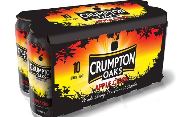 Aston Manor ditches shrink wrap for its multipack canned ciders