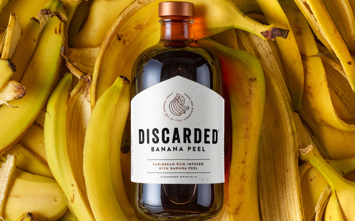 William Grant expands Discarded range with banana peel rum