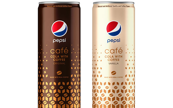 Pepsi blends coffee and cola to create new Pepsi Café beverage