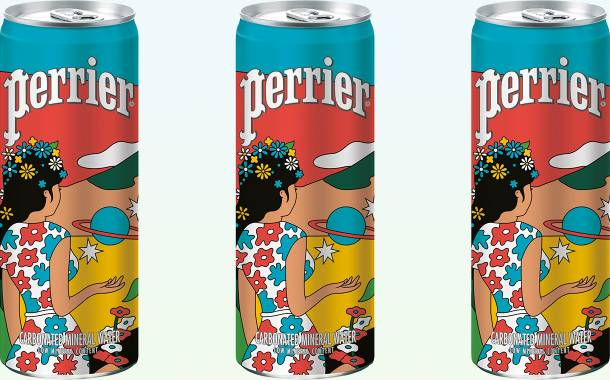 Nestlé Waters unveils limited-edition Perrier can design