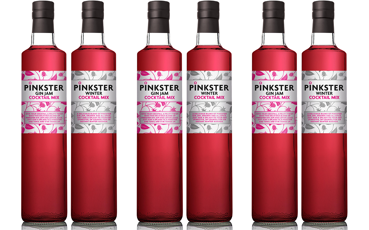 Pinkster launches cocktail mixes made with discarded raspberries