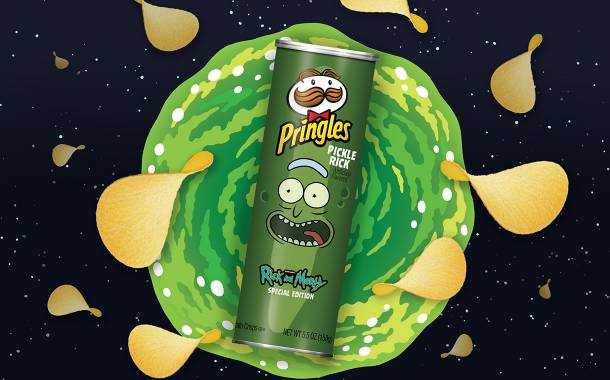 Kellogg-owned Pringles launches special-edition Pickle Rick flavour