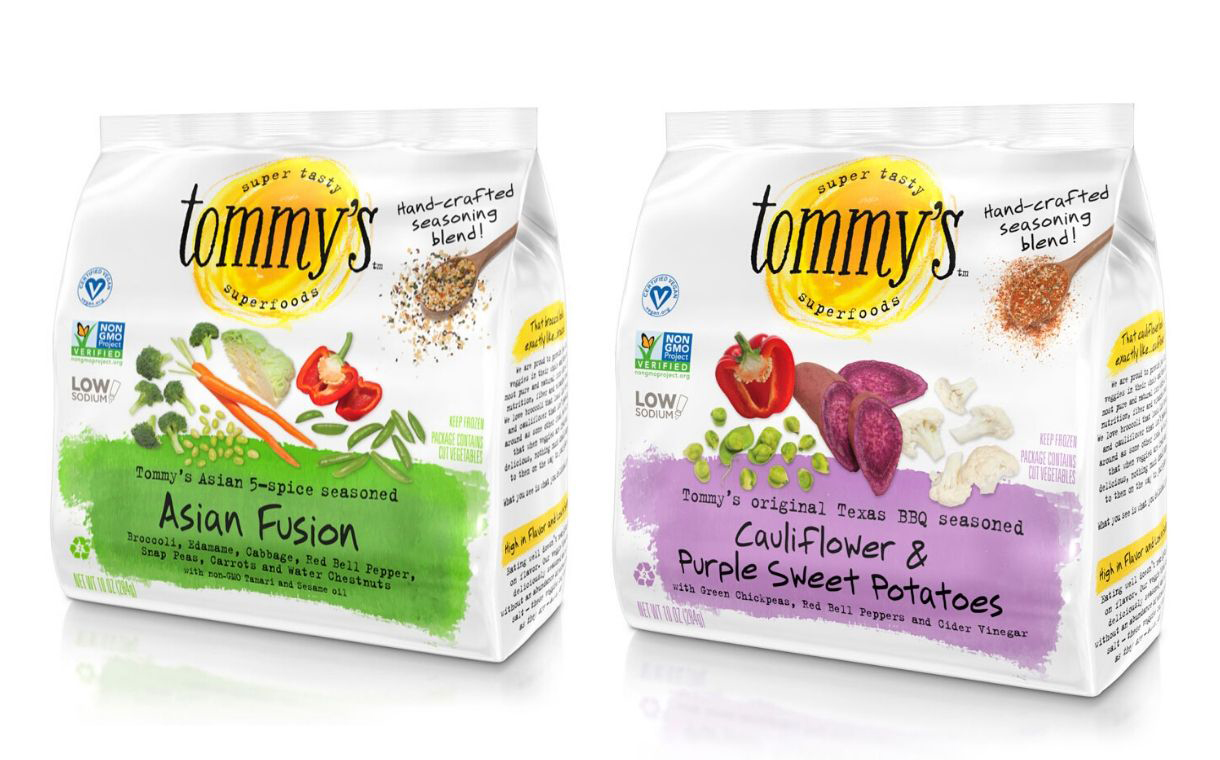 Tommy's Superfoods expands its portfolio of frozen veggie blends