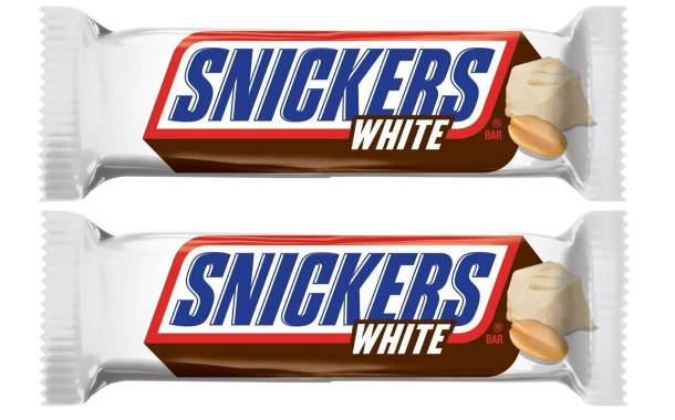 Mars to launch Snickers White permanently in the New Year